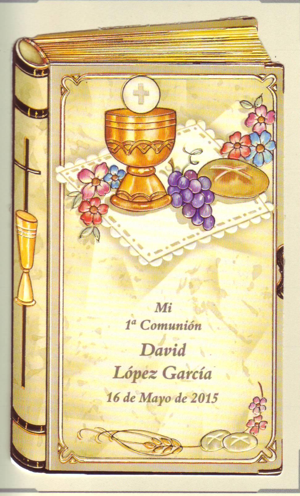 Recordatorios para primera comunion - Recordatorios de comunion para imprimir ...