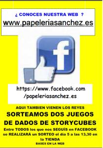 Cartel Sorteo Seguidores de facebook