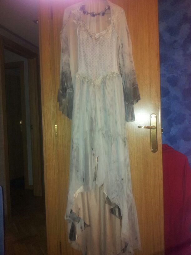Como hacer un vestido del cadaver dela novia